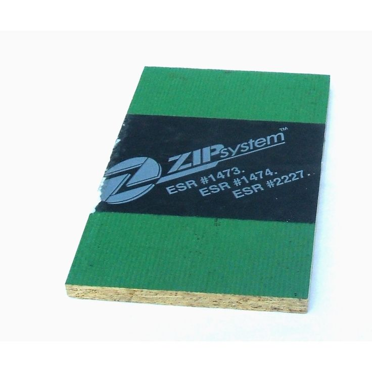 ZIP System 7/16 CAT PS2-10 Tongue and Groove OSB Sheathing, Application as 4 x 8