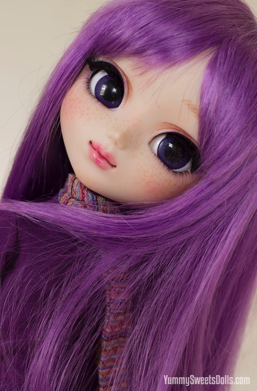 I ♥ Pullip! — yummysweetsdolls: Blueberry Macaroon by Yummy...