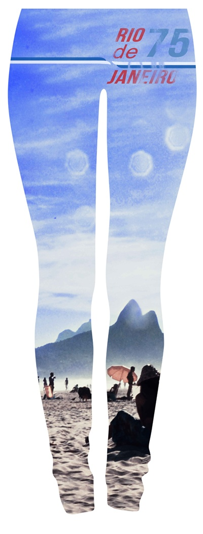 so were about to start getting into #printedleggings - of course we have to start with one from #ipanema #beach  - more to come #leggings #funkyprints