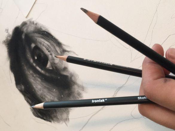 Ironlak Sketching Pencils