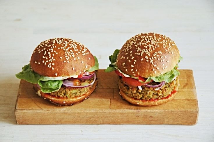 Burger housky po vegansku