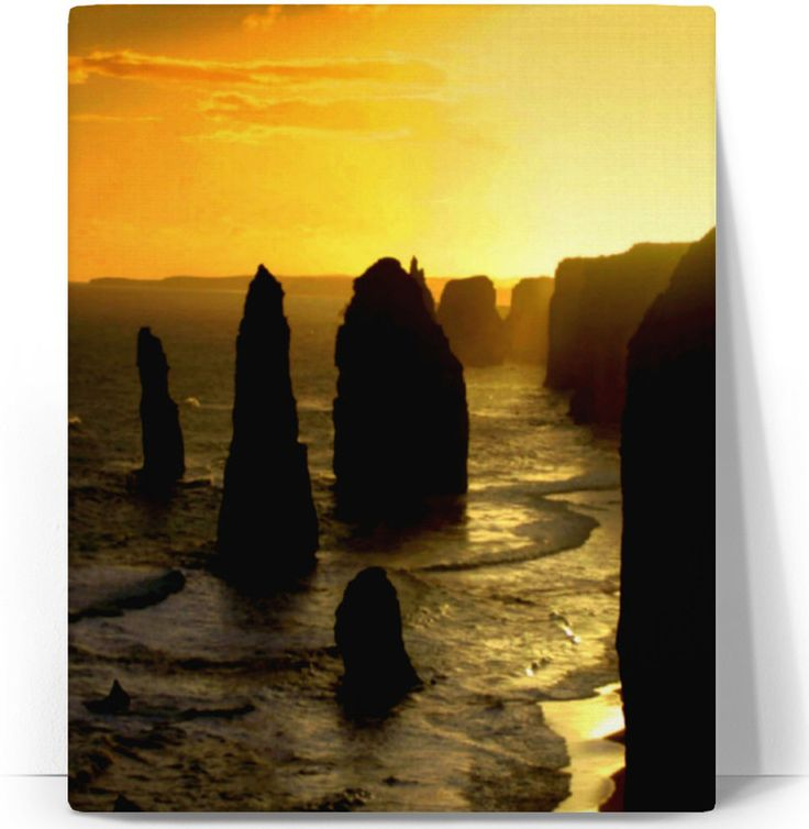 Sunset over the Twelve Apostles