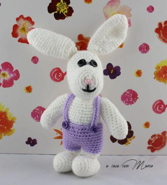 Coniglio Amigurumi Uncinetto : Oltre 1000 idee su Coniglio Alluncinetto su Pinterest ...