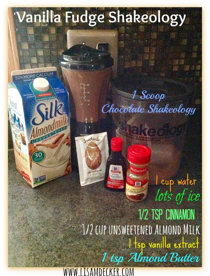Vanilla Fudge Shakeology, Shakeology Recipes, Chocolate Shakeology Recipes