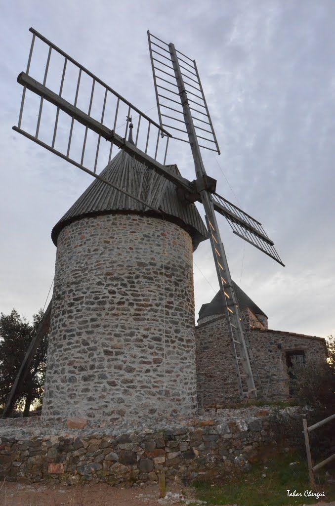 les moulins de Faugères ( Beziers ) France par Reda CHER