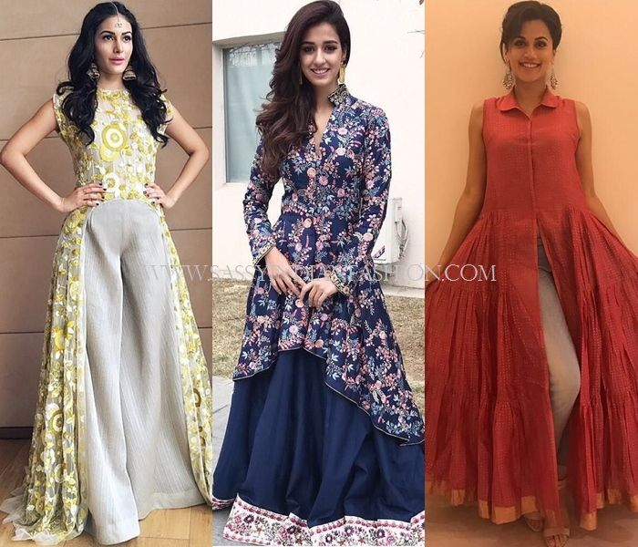 ac91a9d7be Celebrity Ethnic Oufits | Celebrity Fashion in 2019 | Fashion ...