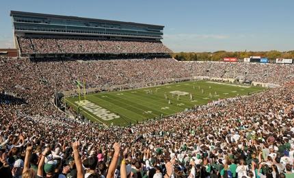 Spartan Stadium!