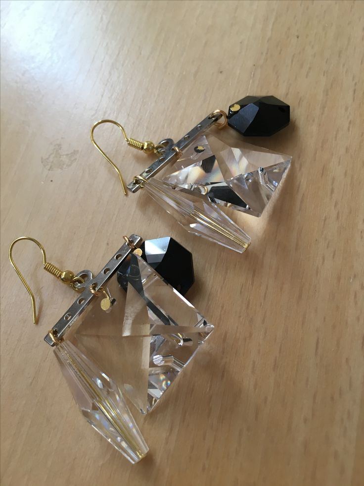chantelier crystal earrings