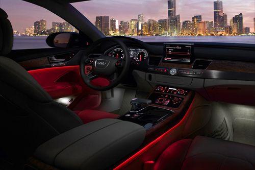 "auerr: ""  2011 Audi A8 x Ambient Lighting """