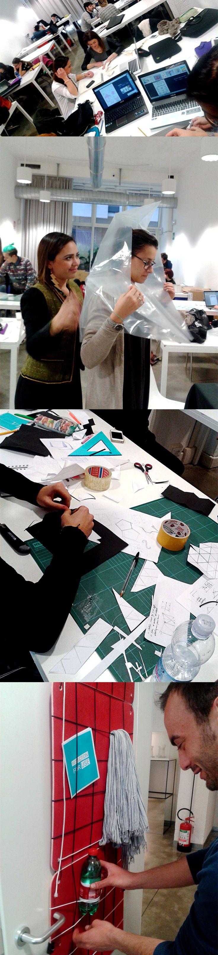 Collaborazione tra IFU e l'Istituto Europeo del Design.  #ied #workshop #design