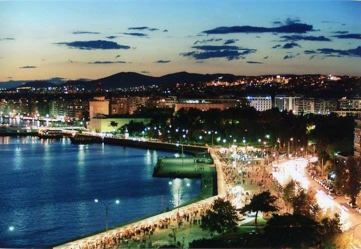 Thessaloniki by night #thessaloniki #greece #summer2015