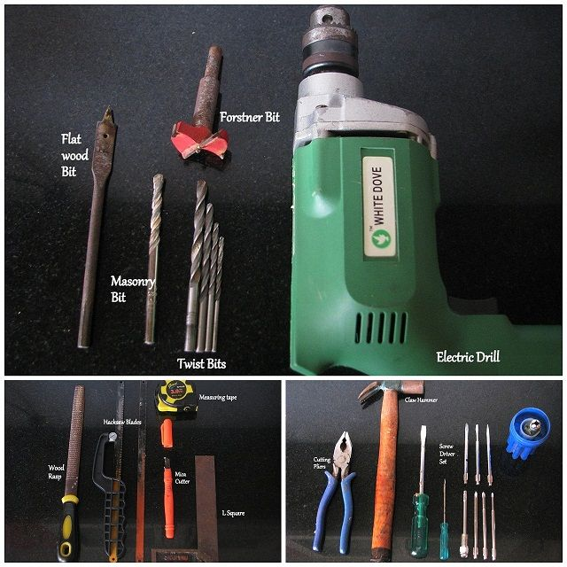 Basic hand tools to own for all the small woodworking projects at home   http://www.woodooz.com/2012/07/basic-woodworking-hobby-tools-for-diyer.html