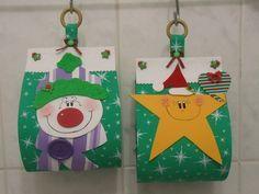 toys - Reciclagem divertida e artesanato: Porta Papel Higienico Natalino