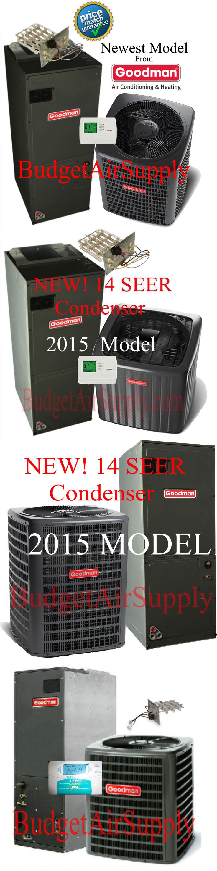 Air Conditioners 69202: Goodman 2.5 Ton 14 Seer R410a Multi-Speed Complete Split System Heat Pump -> BUY IT NOW ONLY: $1710 on eBay!