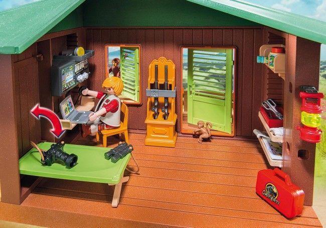 Playmobil Centre de soin pour animaux de la savane - Castello | Jeux et Jouets