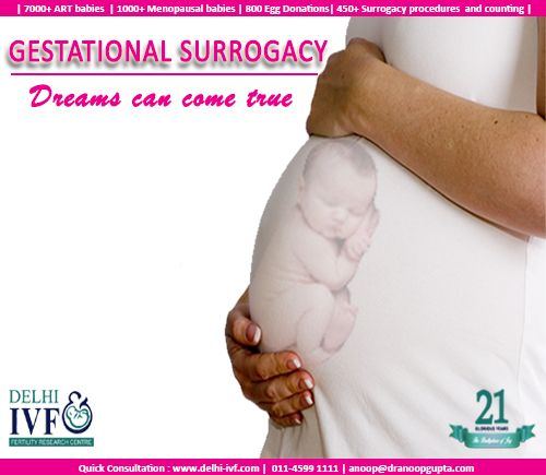 Gestational Surrogacy is the process that is done by implanting a couple's IVF embryos into surrogate mother. Reach the experts @ http://goo.gl/2SLZbf #surrogacy #ivf #happiness #babies #ivfindia