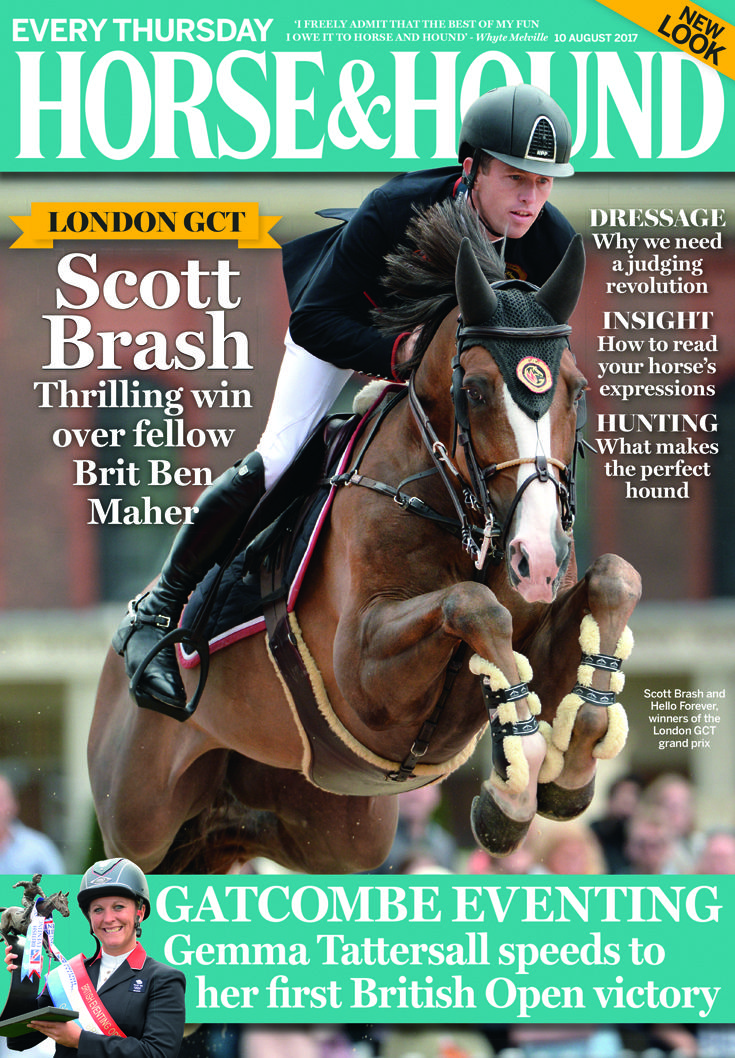 Congratulations to this week's cover star Scott Brash. Find out what's inside via the link...