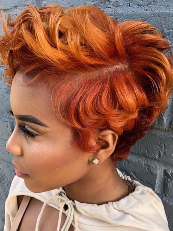 Hottest Copper Red Hair Colors Highlights For Short Hair In 2019