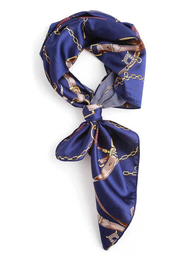 Shop Chain Print Satin Bandana online. SheIn offers Chain Print Satin Bandana & more to fit your fashionable needs.