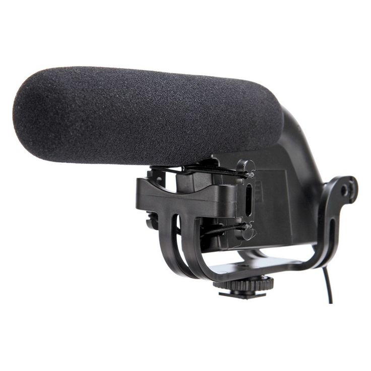 Smith-Victor Condenser Microphone with Low Signal to Noise Ratio - Black (SV-SGM)
