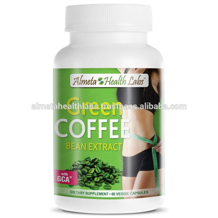 Haricots verts en boîte · weight loss pill made from green coffee bean  extract