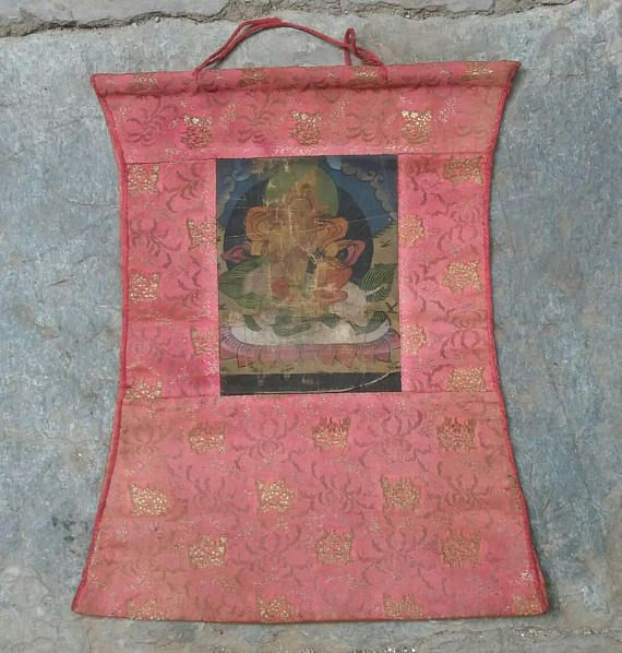 Check out this item in my Etsy shop https://www.etsy.com/uk/listing/531142714/a-beautiful-mid-century-nepalese-thanka