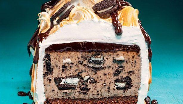 Το τέλειο εορταστικό cheesecake με μπισκότα όρεο
