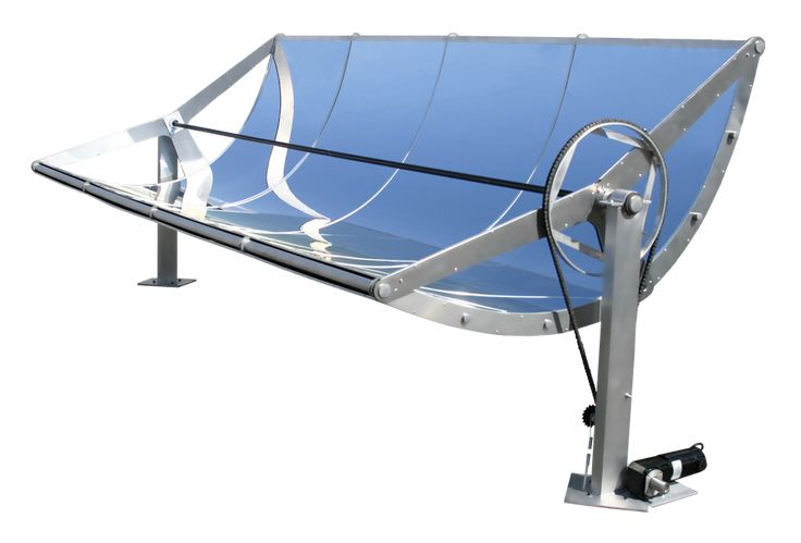 """The Hawaiian company's """"micro concentrating solar power"""" troughs shrink the basic design of equipment used in large-scale solar power plants."""
