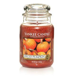 Yankee Candle Spiced Pumpkin Large Jar