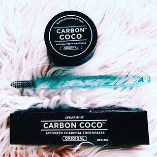 Carbon Coco is perfect for whitening even the most sensitive teeth. | 19 Charcoal Beauty Products That Live Up To The Hype
