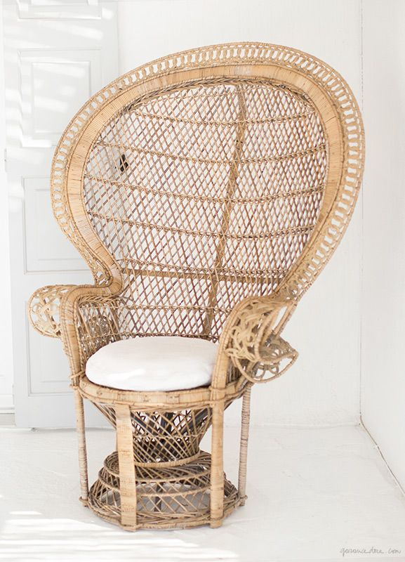 104 best images about peacock chair on pinterest peacock for Large wicker moon chair