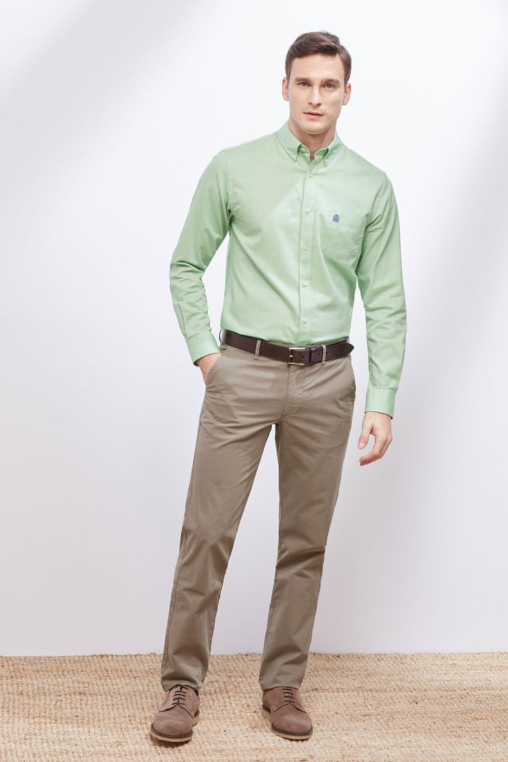 Camisa oxford lisa   Camisas   Cortefiel