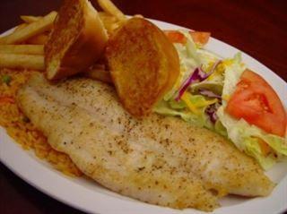 Filete De Pescado Al Ajo from Pico Pica Rico Restaurant in Los Angeles #Food #Restaurant forked.com