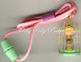 1990 - Polly Pocket Polly in Her Necklace - Mattel/Bluebird Toys