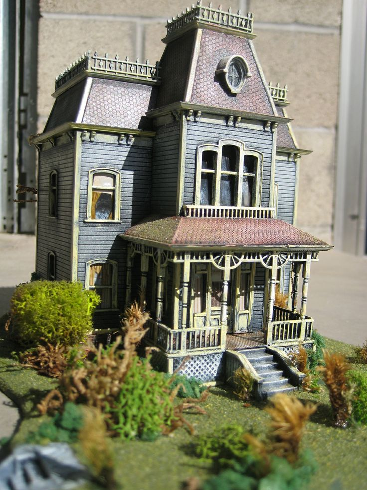 17 best images about psycho house on pinterest bates for Model house movie