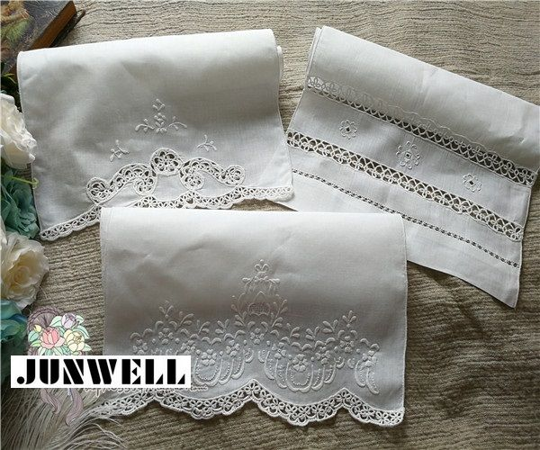 Image result for cutwork tea towels