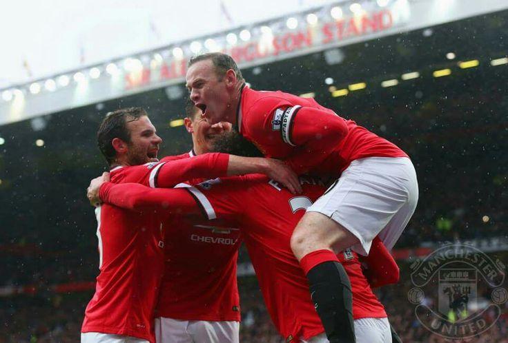 Manchester United v City Manchester Derby 4-2 victory GGMU!!!