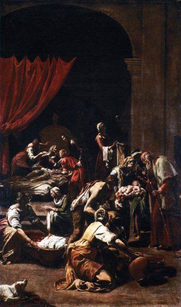 Borgianni Orazio Nascita della Vergine, c. 1610