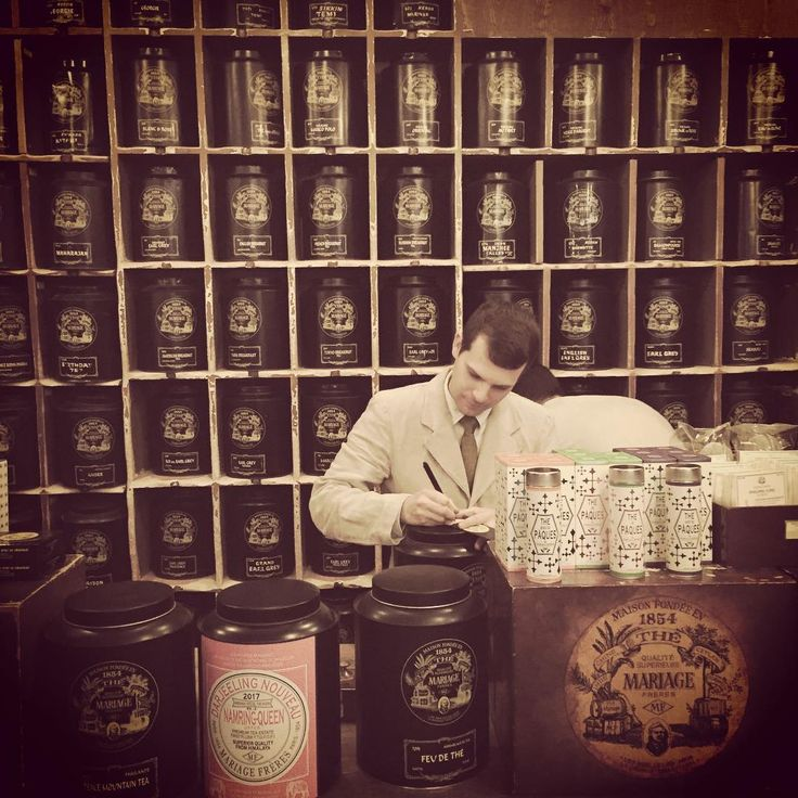 Our tea comes from Mariage Frères who have been creating blends since 1854 in Paris. #NationalTeaDay