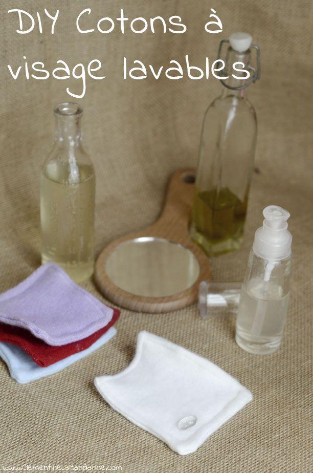 DIY disques à démaquiller lavables http://clementinelamandarine.com/2014/10/10/diy-disques-a-demaquiller-lavables/