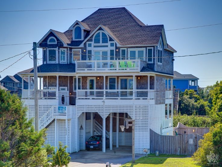 5 Bedroom Semi Oceanfront Rental House in Salvo  part of the Outer Banks of  North Carolina  Includes Pool  Hot Tub  Hi Speed Internet  Linens    Recreation. 17 best ideas about Outer Banks Vacation Rentals on Pinterest