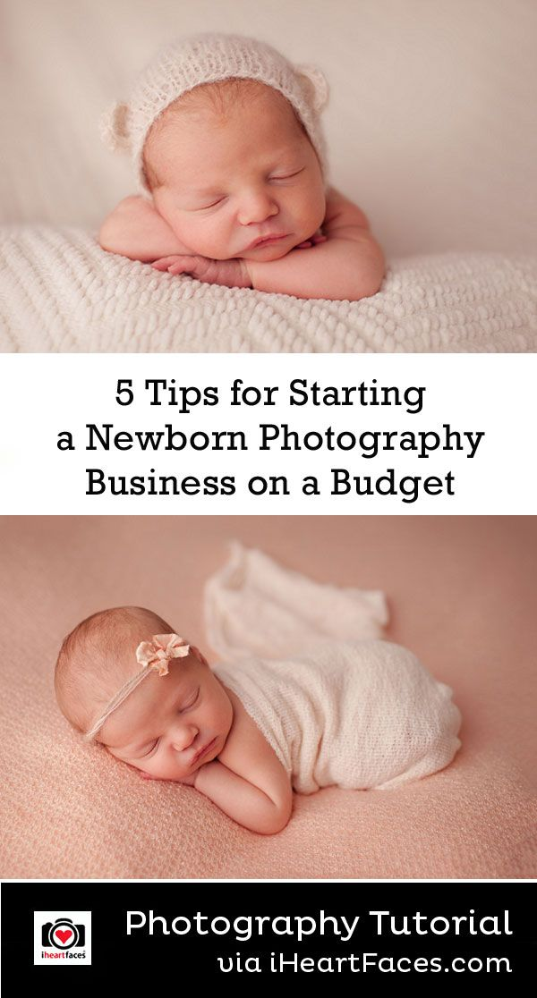 5 Budget-Conscious Tips for Getting Started in Newborn Photography by Megan Curren for  iHeartFaces.com