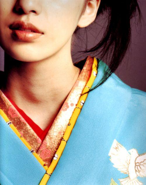 Han-eri 半衿  -neckpiece (on a kimono)-