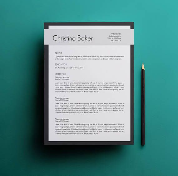 70 best Resume Cover Letters images on Pinterest Cv template