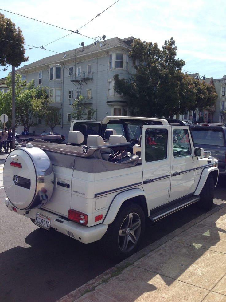 Custom G-Wagon Convertible: G wagon is my dream car, this is 3x better