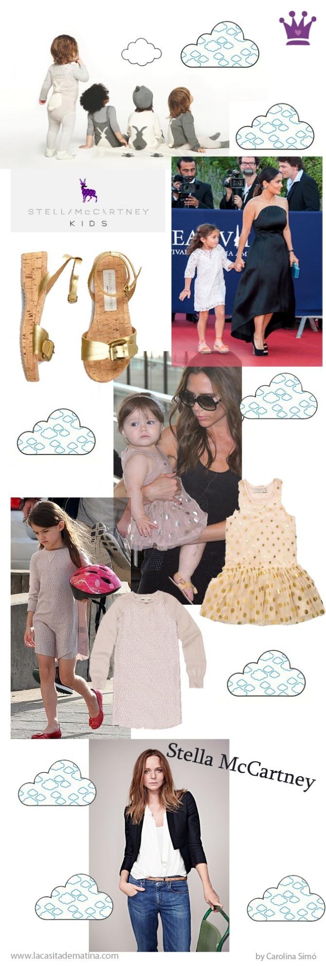 Stella McCartney, www.lacasitademartina.com Kids fashion, Celebrities