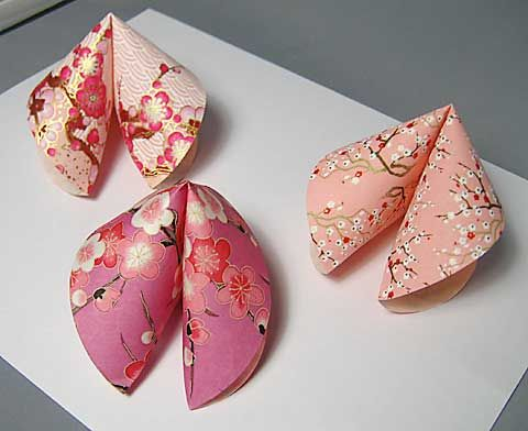 origami fortune cookie 3d projects pinterest