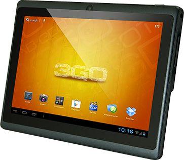 Tablet 3GO Geotab 7001 eco negra  La serie GEOTAB GT7001 de 3go te ofrece todo lo que necesitas de un Tablet, con una relación calidad/precio inigualable. Cuenta con el último sistema operativo Android ice cream sándwich 4.0, procesador Cortex A8 a 1.0Ghz y potente GPU MALI-400 con el que podrás dominar la mayoría de aplicaciones del mercado Android. Especificaciones CPU Cortex A8 VELOCIDAD PROCESADOR 1.0 Ghz SDRAM DDR3 512 Mb GPU MALI-400 a 300Mhz ANDROID 4.0.3 MEMORIA INTERNA 4 Gb