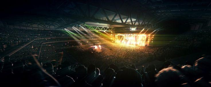 Enfin du spectacle au stade Pierre Mauroy de Lille !