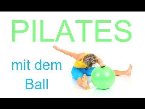32 min. Pilates Flow mit dem Ball - YouTube
